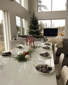 Kattaus | Tablesetting Table Settings, Table Decorations, Christmas, Furniture, Home Decor, Xmas, Decoration Home, Room Decor, Table Top Decorations