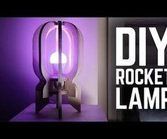 lámpara de cohetes