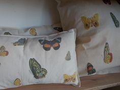 Mariposas impresas