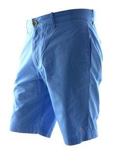 Original Penguin Basic Tailored Shorts Azure Blue Was 46 Now £34.99