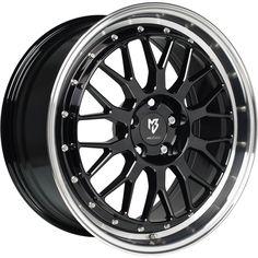 MB-DESIGN LV1 Felgen Glanzschwarz poliert in 19 Zoll - Felgenshop.de #wheelporn #wheels #tuning #Felgen
