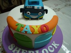 tayo the bus birthday party - Google Search