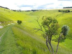 Thixendale, on the Wolds Way