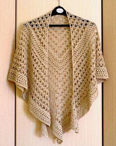 """crochet clothes Crochet Shawl Pattern - Rings Of Lace Shawl Written Pattern - Triangulare Shawl Pattern - DIY Wrap Shawl - Crochet Graph Pattern ItWasYarn - Crochet pattern """"Rings of lace"""" shawl. The pattern includes: Crochet Bolero, Crochet Shawls And Wraps, Crochet Scarves, Crochet Clothes, Crochet Lace, Lace Shawls, Lace Scarf, Patron Crochet, Crochet Gifts"""