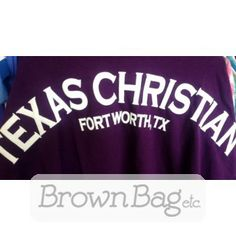 Texas Christian University Spirit Jersey