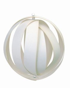 Plywood Ball Ornament
