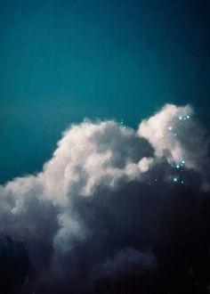 """""""Intrépide No. 3"""" Cloud Painting"""