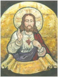 Sacred Heart of Jesus by Jeanne Gordon