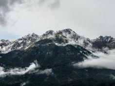 # Mountains Fog High