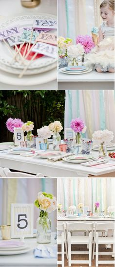 We must have a cute kids corner at the wedding! This is perfect!