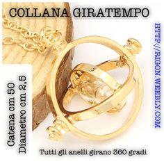 COLLANA HARRY POTTER HERMIONE GIRATEMPO OFFERTA € 3