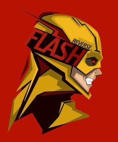 ⚡Reverse Flash By Boss Logic⚡ Dc Comics Art, Marvel Dc Comics, Chibi Marvel, Flash Art, The Flash, Flash Wallpaper, Reverse Flash, Univers Dc, Girls Anime