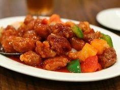 ★ Recette Porc à l'ananas à la sauce aigre-douce - Recettes asiatiques & Restaurants asiatiques ★ Asie360