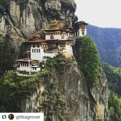 #Repost @gitikagrover with @repostapp Get featured by tagging your post with #talestreet  #tigersnesthike #tigersnest #tigersnestmonastery #paro #wanderlust #talestreet #travel #travelph #explore #wander #wanderer #travels #traveldiaries #explorer #forest #castle #mountains #hilly #home #exploreearth #travelgram #travelogue #twitter