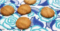 5 ingredient peanut butter protein cookies (FYI hemp protein powder makes them a little darker/greener than the pic)