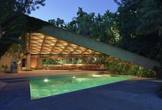 John Lautner.Sheats-Goldstein house. Beverly Hills, CA 1961-63