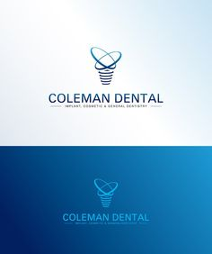 Create a professional logo for a dental practice specializing in dental implants by Erdihan