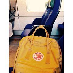 Fjallraven #fjällräven #Sweden #yellow