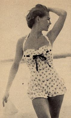 Vintage bathing suits.