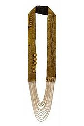 Sylvie Necklace in Gold by Fiona Paxton