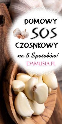 Domowy Sos Czosnkowy na 5 Sposobów! Kitchen Chemistry, Good Food, Yummy Food, Polish Recipes, Tzatziki, Food Hacks, Side Dishes, Grilling, Garlic