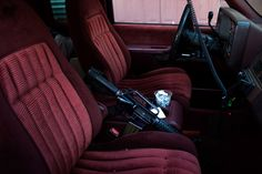 """""""I just had the brakes replaced last month and it comes with the velvet covered seats"""" """"does it come with the gun?"""" """"no that ones mine, but there's a glock in the glove box you can have."""""""