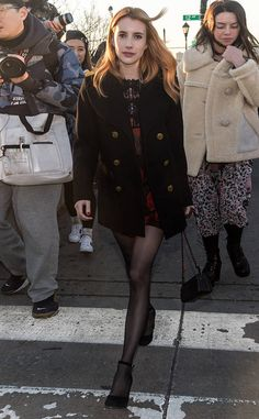 Emma Roberts from The Big Picture: Today's Hot Photos  Scream Queens star attends New York Fashion Week.