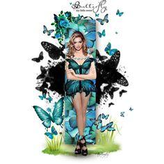 """~Butterfly~"" by tammynky on Polyvore"