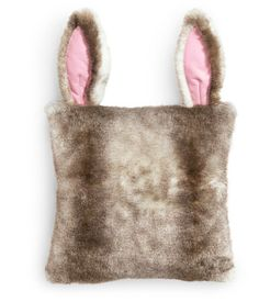 Seriously...super cute! It's has all of the soft goodness of a bunny without the mess.