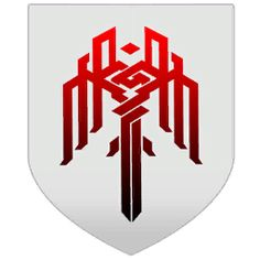 Kirkwall logo from Dragon Age II. I want something less angular but not quite the traditional tribal style