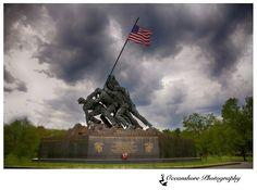 Iwo Jima War Memorial Washington DC  Travel Photography by Oceanshore Photography