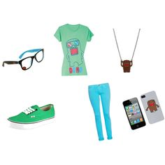"""Domo"" by misslayla4life on Polyvore"