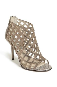 Love this MICHAEL Michael Kors Perforated Metallic Bootie.