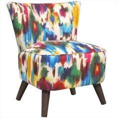 Skyline Furniture 99-1ESPARRMLT Chair, Aurora Multi, As Shown