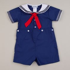 This is one of my favorites on totsy.com: Newborn Sailor Bobby Suit