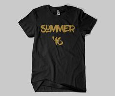 Summer Sixteen Unisex Tee Shirt