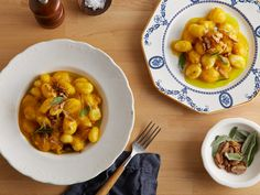 Butternut Squash Sauce with Sage recipe from Tyler Florence via Food Network