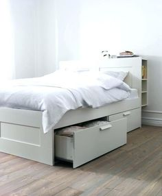 Hearty Ikea Malm Double Bed Frame With Slats Beech Colour Collection Westcliff On Sea Home, Furniture & Diy