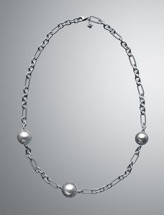 Pearl Cable Wrap Chain Necklace- Saaannnta-- Please, I have been very very good!!!