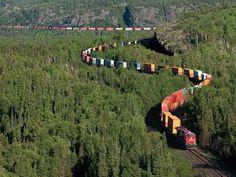 Canadian Pacific Railway. Канадская Тихоокеанская железная дорога. Дооооооооолгое путешествие в Канаду. Летайте вместе с нами! JamAero.ru - Авиабилеты онлайн. JamTur.ru - туры онлайн.