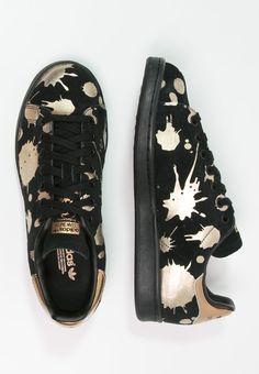 adidas Originals STAN SMITH - Zapatillas - core black/copper metallic…