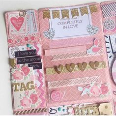 Snail Mail Ideas — In ❤ with this adorable mail made by you. Mini Scrapbook Albums, Scrapbook Journal, Scrapbook Cards, Free Gift Cards, Diy Cards, Snail Mail Flipbook, Pen Pal Letters, Pocket Letters, Snail Mail Pen Pals