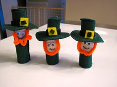 Sylvia's Stitches: Kid's St. Patrick's Craft