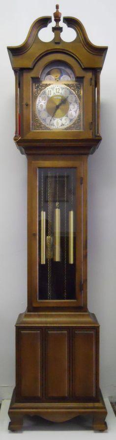 Vintage Howard Miller granfather clock.