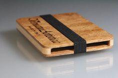 Wooden card holder - Business card holder - Men and women accessory - Wood business card holder - business card case - Card wallet di VenaturArtistica su Etsy