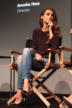 Actress Keri Russell attends Meet The Filmmakers 'Austenland' at the... News Photo 176509294