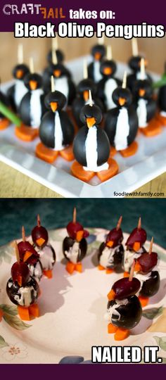 The Pintester Takes on Olive Penguins Cooking Fails, Food Fails, Cooking Recipes, Haha Funny, Funny Stuff, Funny Things, Kid Stuff, Pinterest Fails, Craft Quotes
