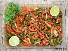 Who doesn't love fajitas as a Playoff meal? And this awesome recipe from Budget Bytes is low-cost and easy to make!
