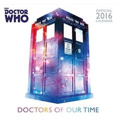 [Doctor Who: Classic Edition: 2016 Square Calendar (Product Image)]