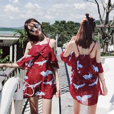 03cfffa0a5 Swimsuit female three-piece skirt hot spring Korean bikini small chest  gather sexy apron conservative student swimsuit